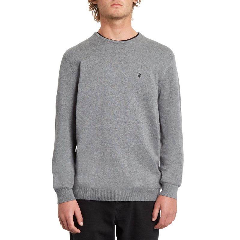 Jersey Volcom: UPERSTAND UP SWEATER (HEATHER GREY)