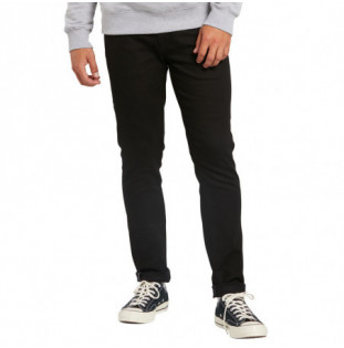 Pantalón Volcom: 2X4 TAPERED (BLACK ON BLACK)