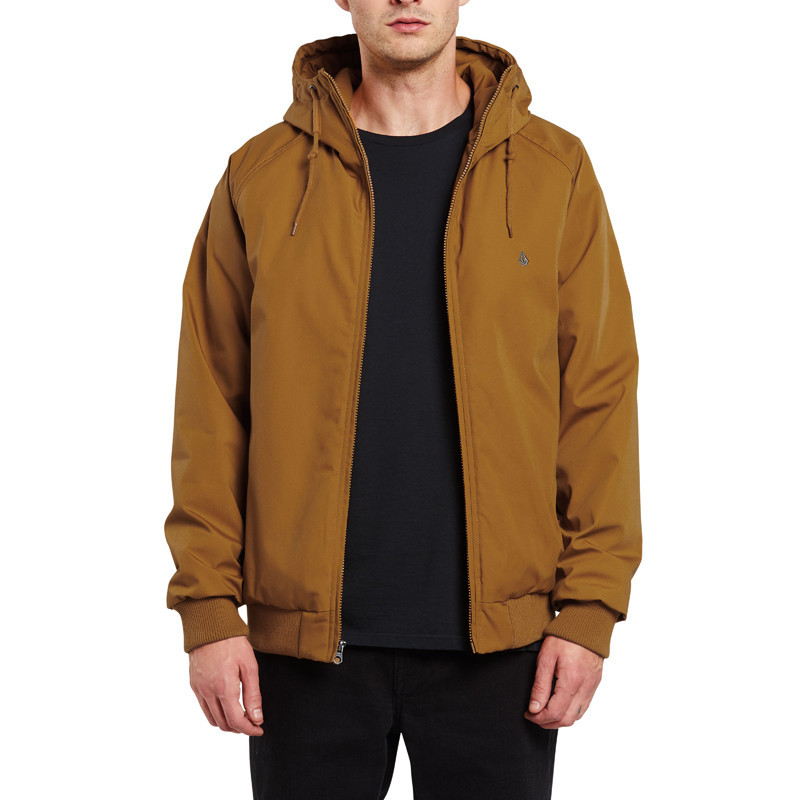 Chaqueta Volcom: HERNAN 5K JACKET (GOLDEN BROWN)