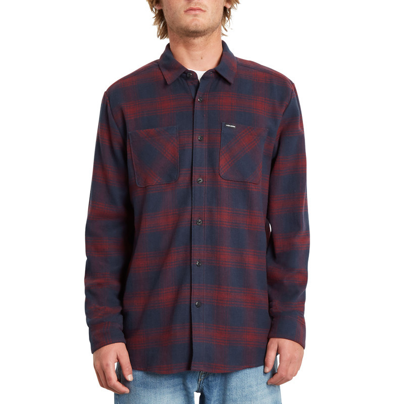Camisa Volcom: TONE STONE L/S (NAVY)