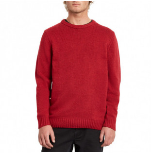 Jersey Volcom: EDMONDER SWEATER (RIO RED) Volcom - 1