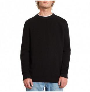 Jersey Volcom: GLENDAL SWEATER (BLACK) Volcom - 1