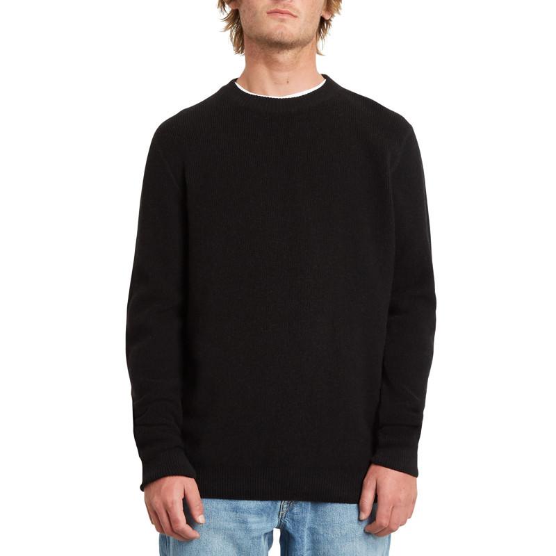 Jersey Volcom: GLENDAL SWEATER (BLACK)