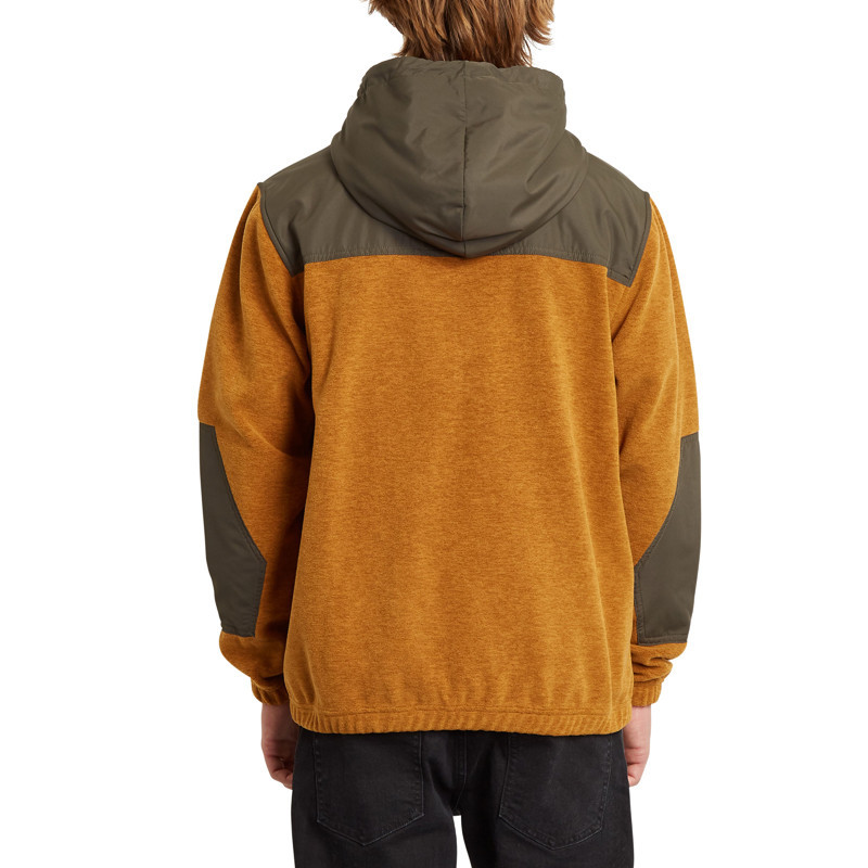 Sudadera Volcom: YZZOLATE LINED (GOLDEN BROWN)