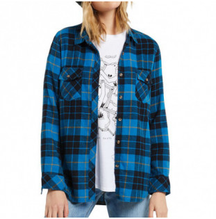 Camisa Volcom: GETTING RAD PLAID LS (TURKISH BLUE) Volcom - 1