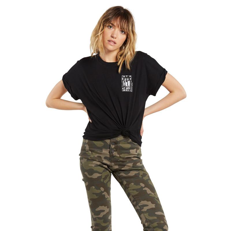Camiseta Volcom: BREAKNOT SS (BLACK)
