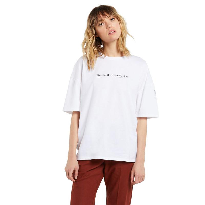 Camiseta Volcom: SCHNIPS FA SS (WHITE)
