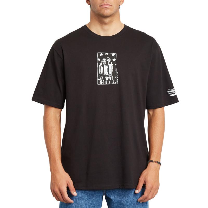 Camiseta Volcom: ADGREEDMENT RLX SS (BLACK)