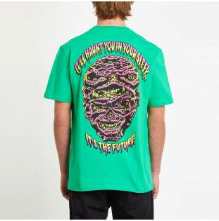 Camiseta Volcom: MICHAEL WALRAVE FA SS (SCAROMATIC GREEN) Volcom - 1
