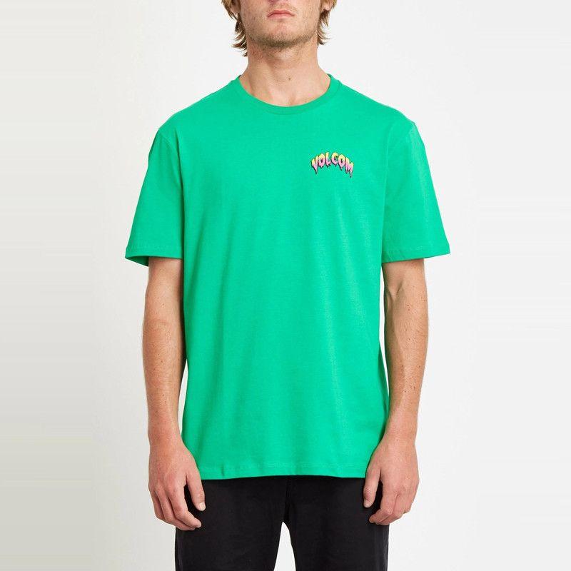 Camiseta Volcom: MICHAEL WALRAVE FA SS (SCAROMATIC GREEN)