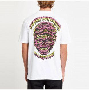 Camiseta Volcom: MICHAEL WALRAVE FA SS (WHITE) Volcom - 1