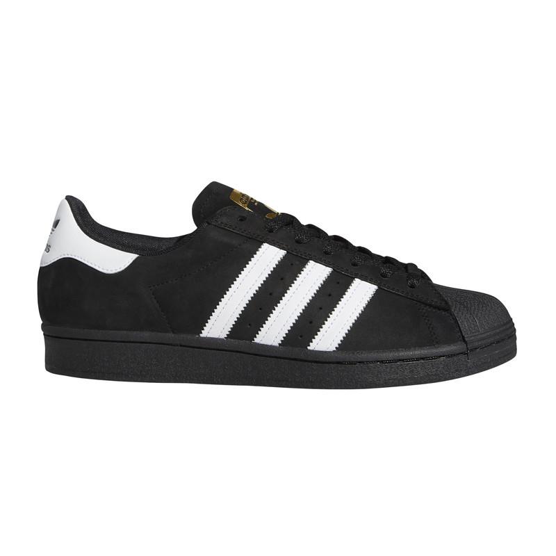 Zapatillas Adidas: SUPERSTAR ADV (NEGRO BÁSICO)