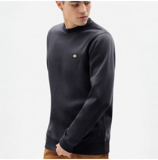 Sudadera Dickies: NEW JERSEY REGULAR SWEATSHIRT (BLACK)