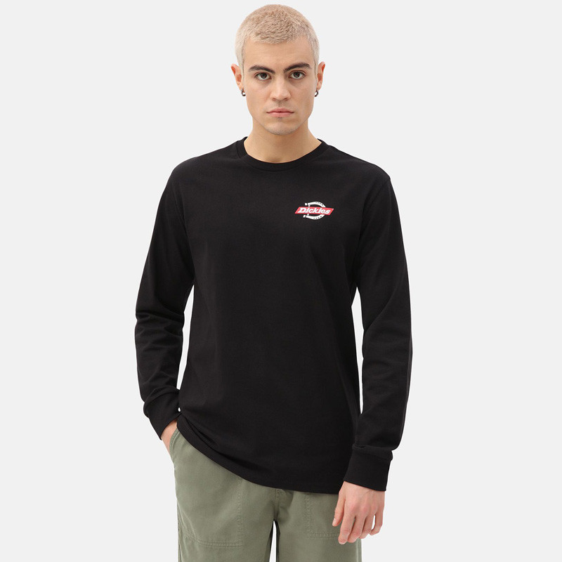 Camiseta Dickies: LS RUSTON T-SHIRT (BLACK)