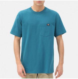 Camiseta Dickies: PORTERDALE TSHIRT MENS (CORAL BLUE) Dickies - 1