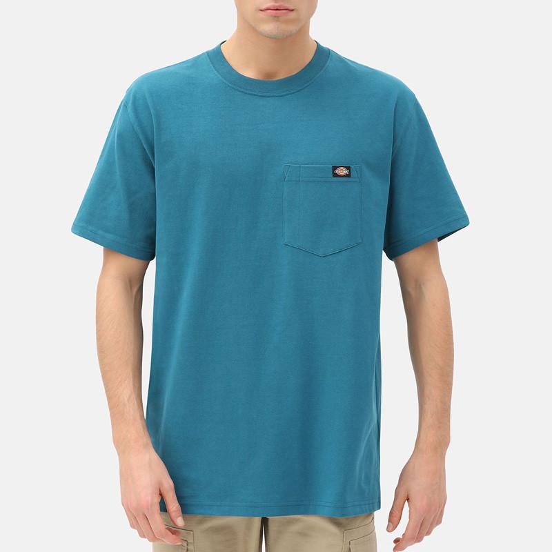 Camiseta Dickies: PORTERDALE TSHIRT MENS (CORAL BLUE)