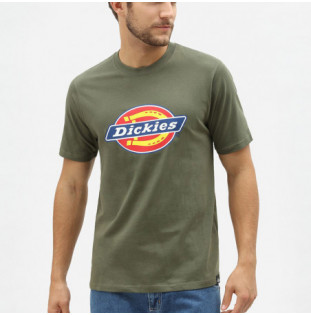 Camiseta Dickies: HORSESHOE TEE MEN (DARK OLIVE)