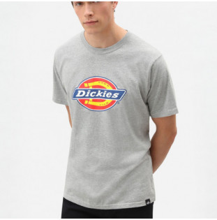 Camiseta Dickies: HORSESHOE TEE MEN (GREY MELANGE)