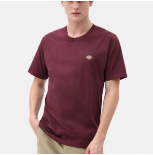 Camiseta Dickies: STOCKDALE REGULAR T-SHIRT (MAROON)