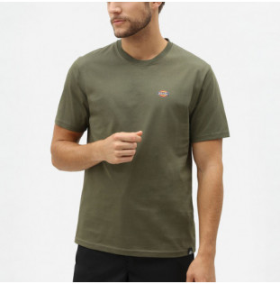 Camiseta Dickies: STOCKDALE REGULAR T-SHIRT (DARK OLIVE)