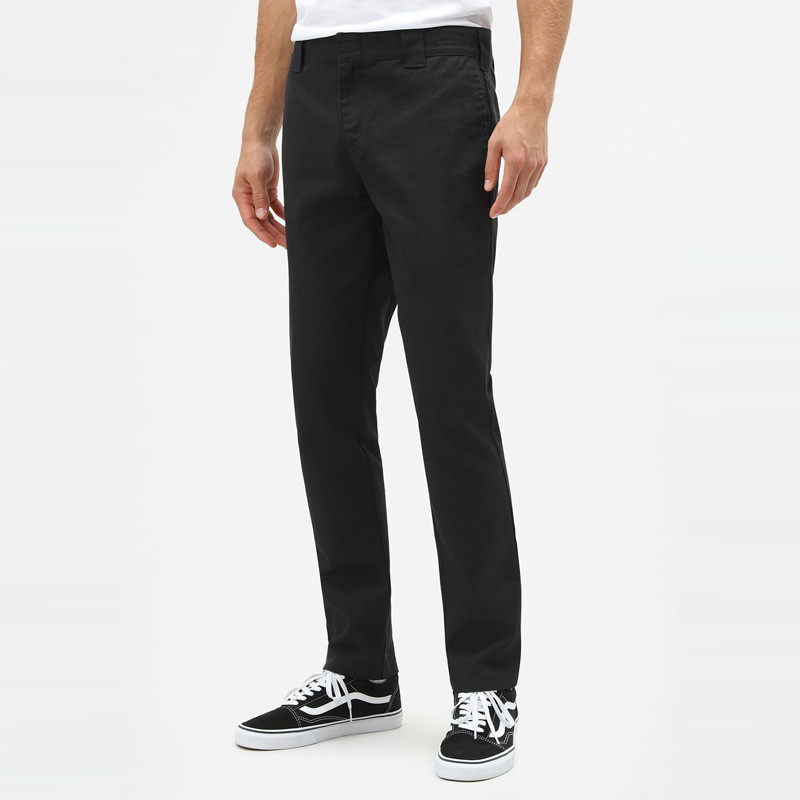 Pantalón Dickies: SLIM FIT WORK PNT (BLACK)