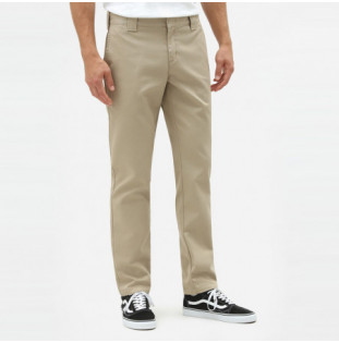 Pantalón Dickies: SLIM FIT WORK PNT (KHAKI)