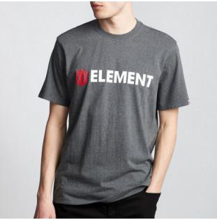 Camiseta Element: BLAZIN SS (CHARCOAL HEATHE) Element - 1