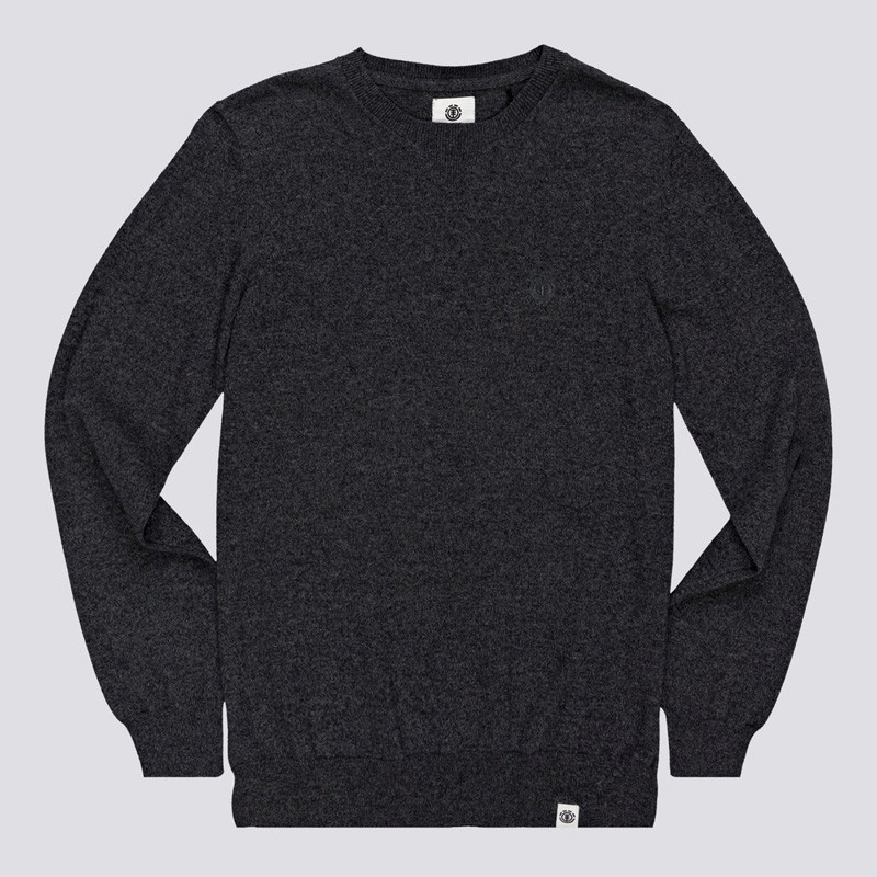 Jersey Element: CREW (CHARCOAL HEATHE)