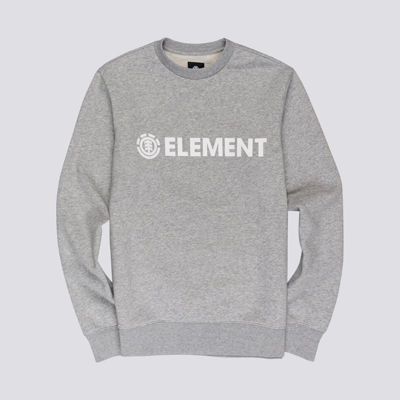 Sudadera Element: BLAZIN CREW (GREY HEATHER)