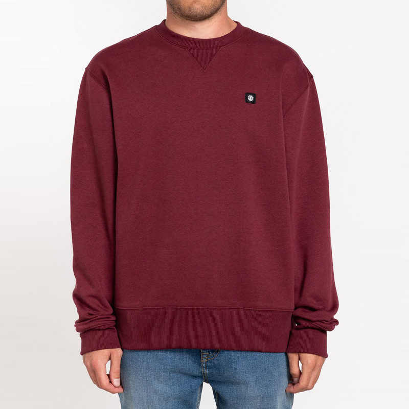 Sudadera Element: 92 CR (VINTAGE RED)