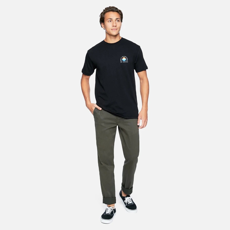 Camiseta Hurley: FINDAPEAK SS (BLACK)