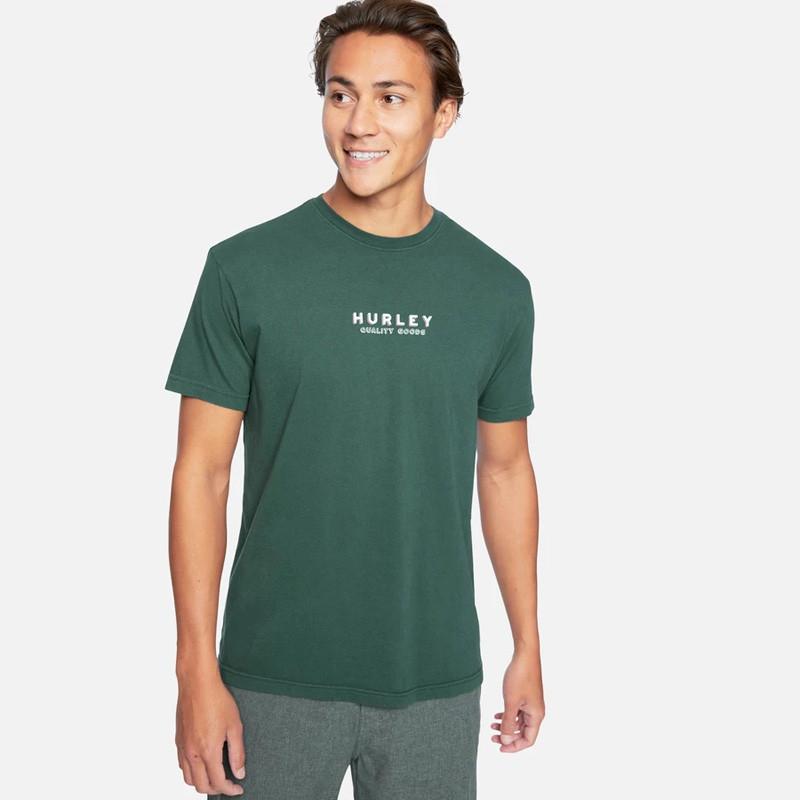 Camiseta Hurley: TSUBA SS (VINTAGE GREEN)