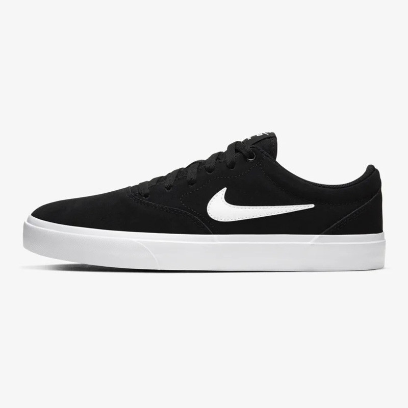 Zapatillas Nike: Charge Suede (BLACK WHITE BLACK)