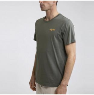 Camiseta Rhythm: LEGACY T-SHIRT (Olive) Rhythm - 1