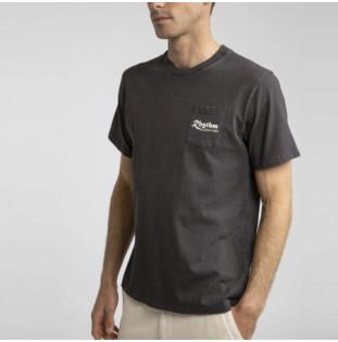 Camiseta Rhythm: PILGRIMAGE VINTAGE T-SHIRT (Charcoal) Rhythm - 1