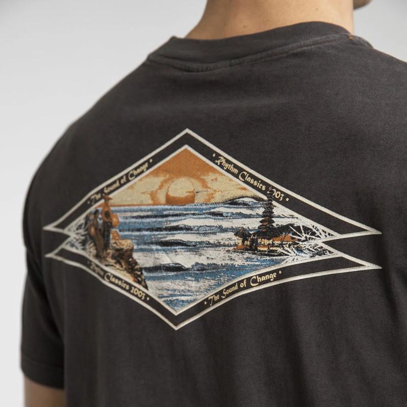 Camiseta Rhythm: PILGRIMAGE VINTAGE T-SHIRT (Charcoal)