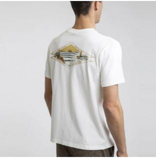 Camiseta Rhythm: PILGRIMAGE VINTAGE T-SHIRT (Vintage White) Rhythm - 1