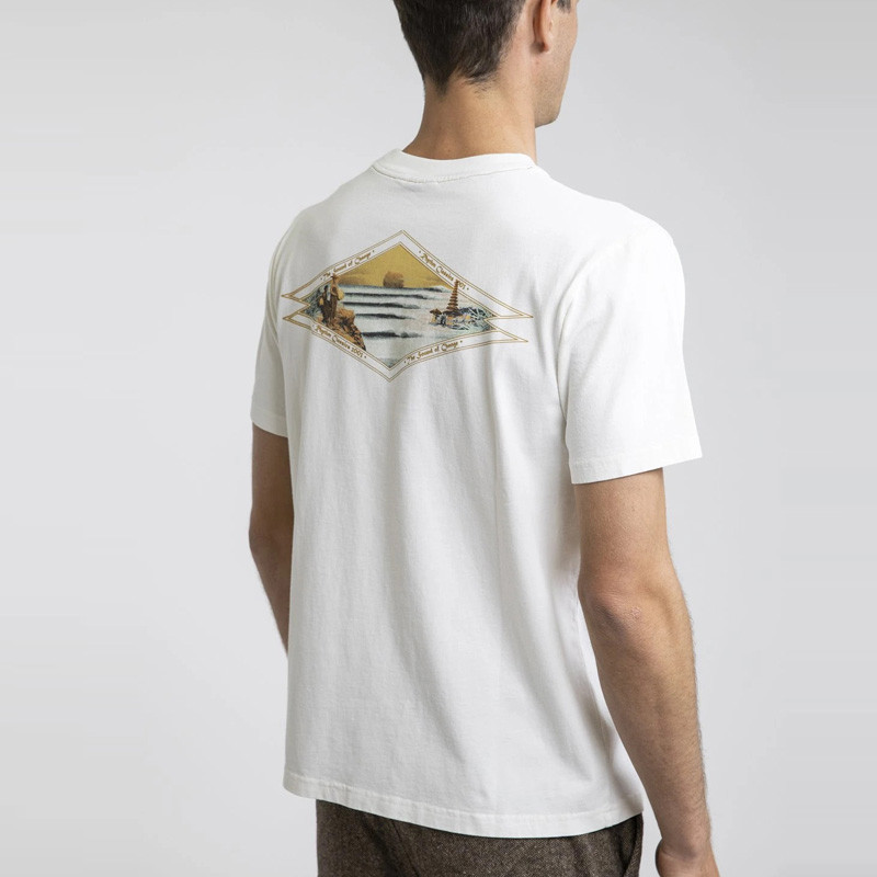 Camiseta Rhythm: PILGRIMAGE VINTAGE T-SHIRT (Vintage White)