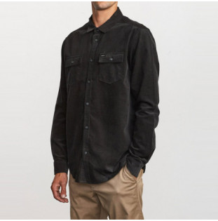 Camisa RVCA: FREEMAN CORD LS (BLACK) RVCA - 1