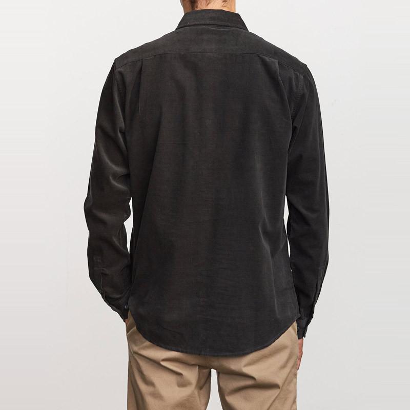 Camisa RVCA: FREEMAN CORD LS (BLACK)