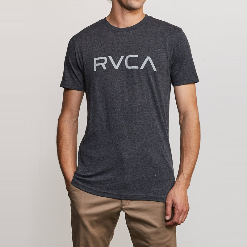 Camiseta RVCA: BIG RVCA SS (BLACK)