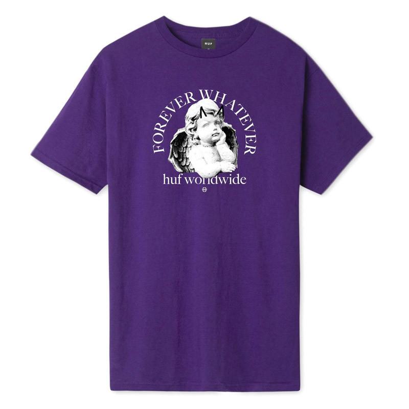 Camiseta HUF: FOREVER WHATEVER OMEN SS TEE (PURPLE)
