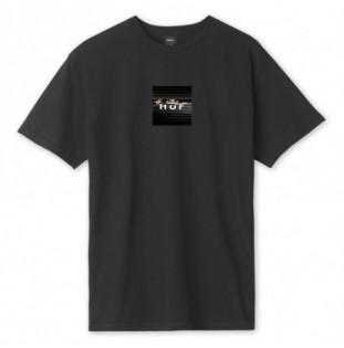 Camiseta HUF: VOYEUR LOGO SS TEE (BLACK) HUF - 1