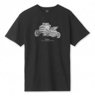 Camiseta HUF: CRIMINOLOGY SS TEE (BLACK) HUF - 1