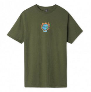 Camiseta HUF: SICK SAD WORLD SS TEE (OLIVE) HUF - 1