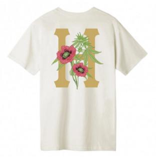 Camiseta HUF: PLANTA CLASSIC H SS TEE (UNBLEACHED)