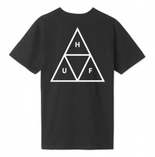 Camiseta HUF: ESSENTIALS TT SS TEE (BLACK) HUF - 1