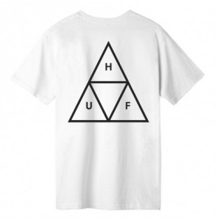 Camiseta HUF: ESSENTIALS TT SS TEE (WHITE) HUF - 1