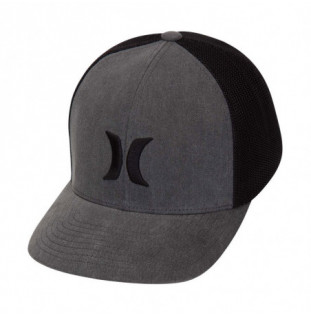 Gorra Hurley: ICON TEXTURES HAT (BLACK) Hurley - 1