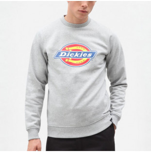 Sudadera Dickies: PITTSBURGH REGULAR SWEATSHIRT (GREY MLNGE)